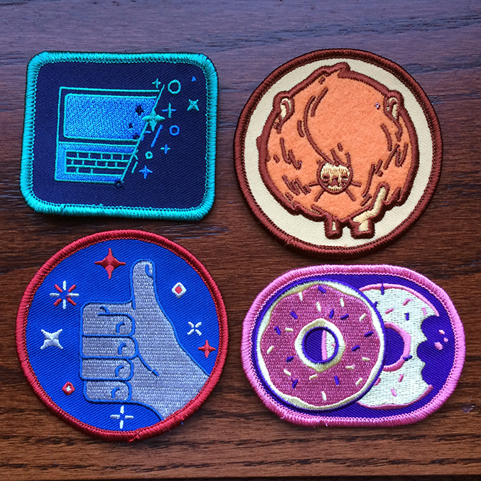 Patches by Emory Allen