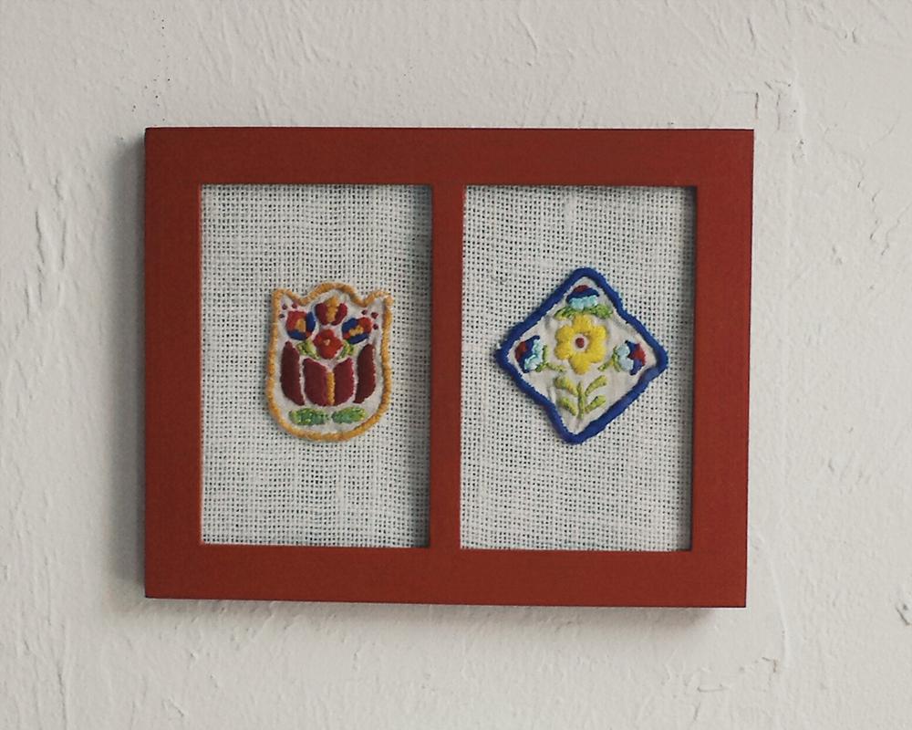 """Flower Motif"" by Theresa Ptak"
