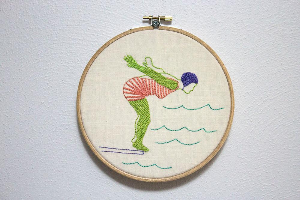 """Dive"" by Alanna Stapleton"