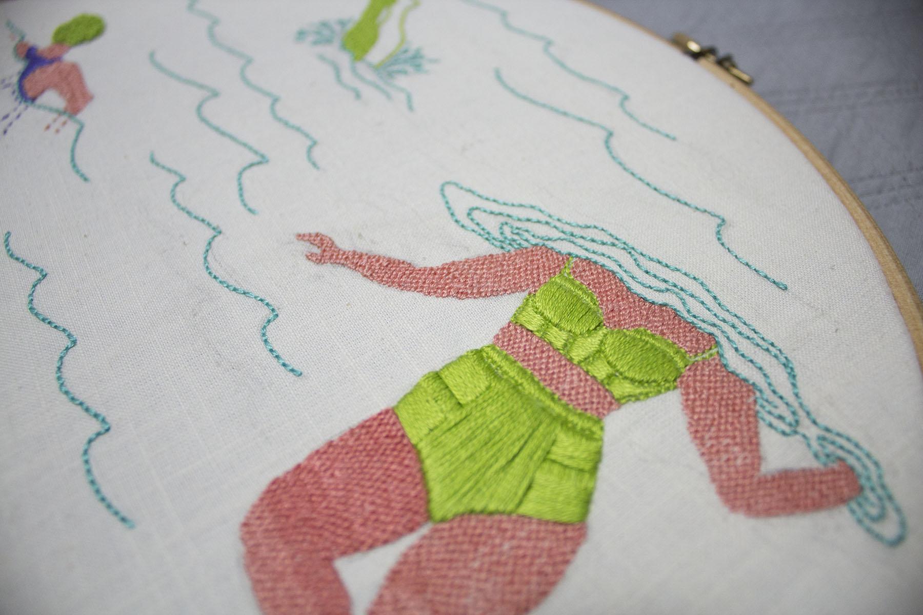 """Dive, Tread, Swim"" by Alanna Stapleton"