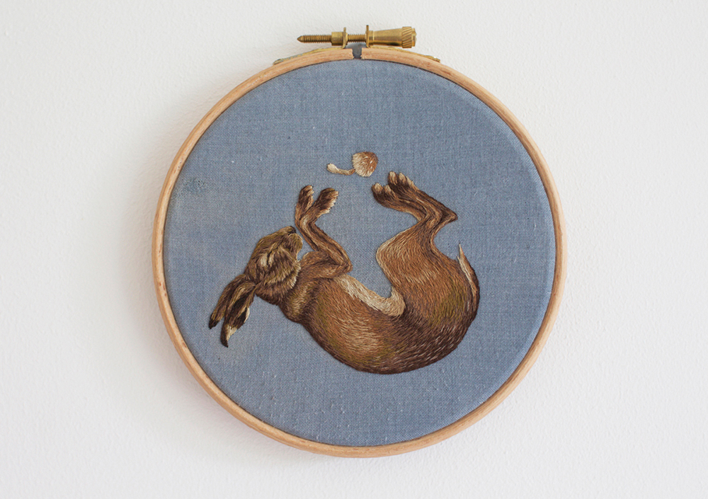 """Sleeping Hare"" by Chloe Giordano"