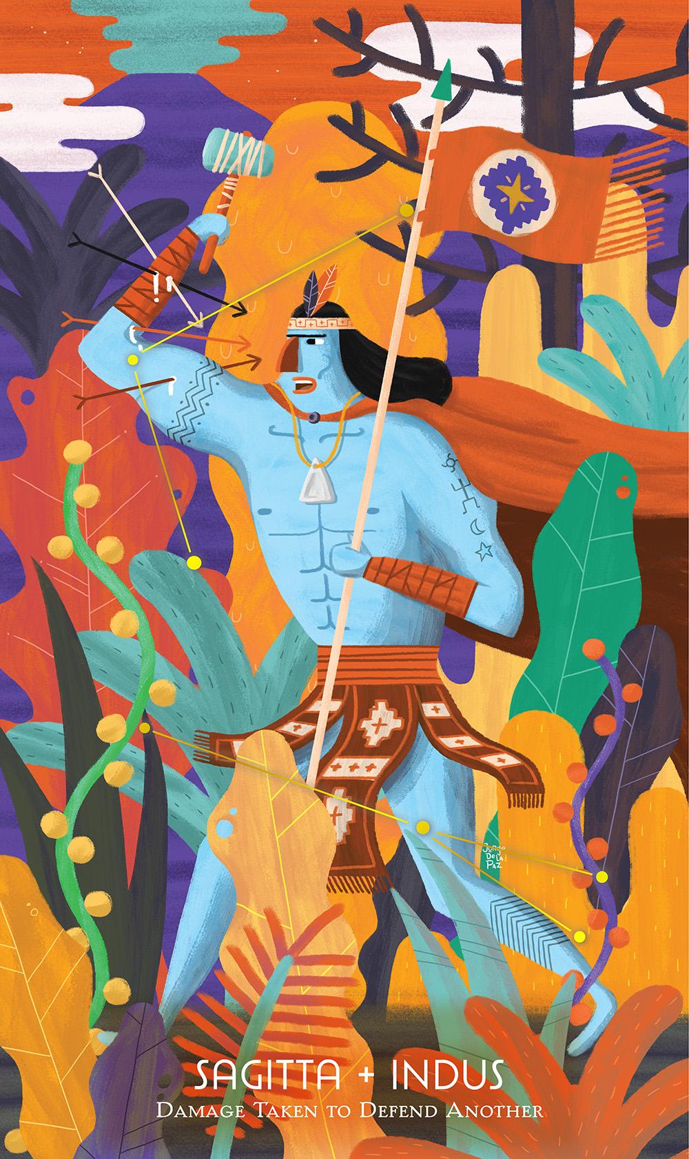 """""""Sagitta + Indus"""" by Jorge De la Paz"""