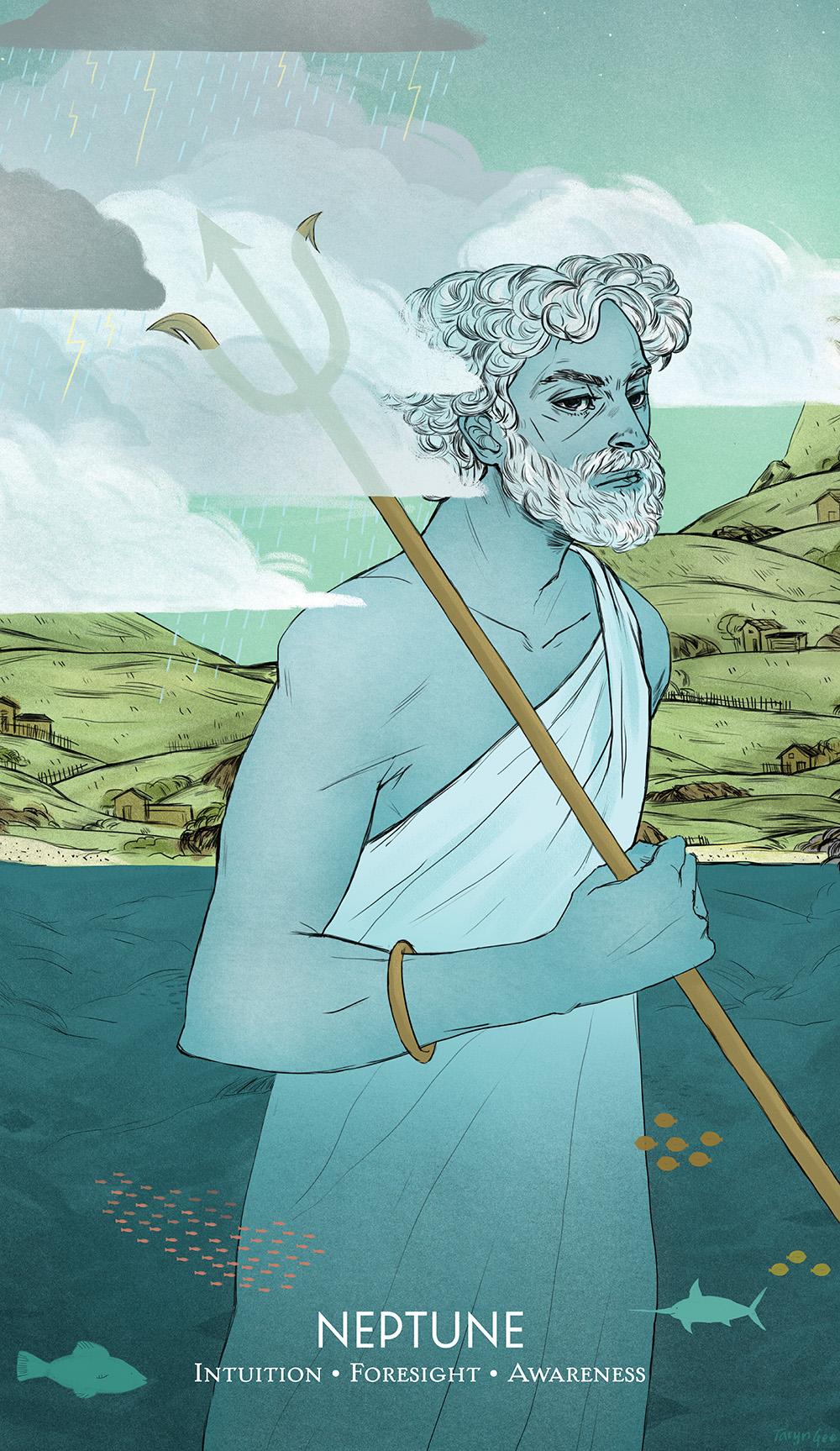 """""""Neptune"""" by Taryn Gee"""