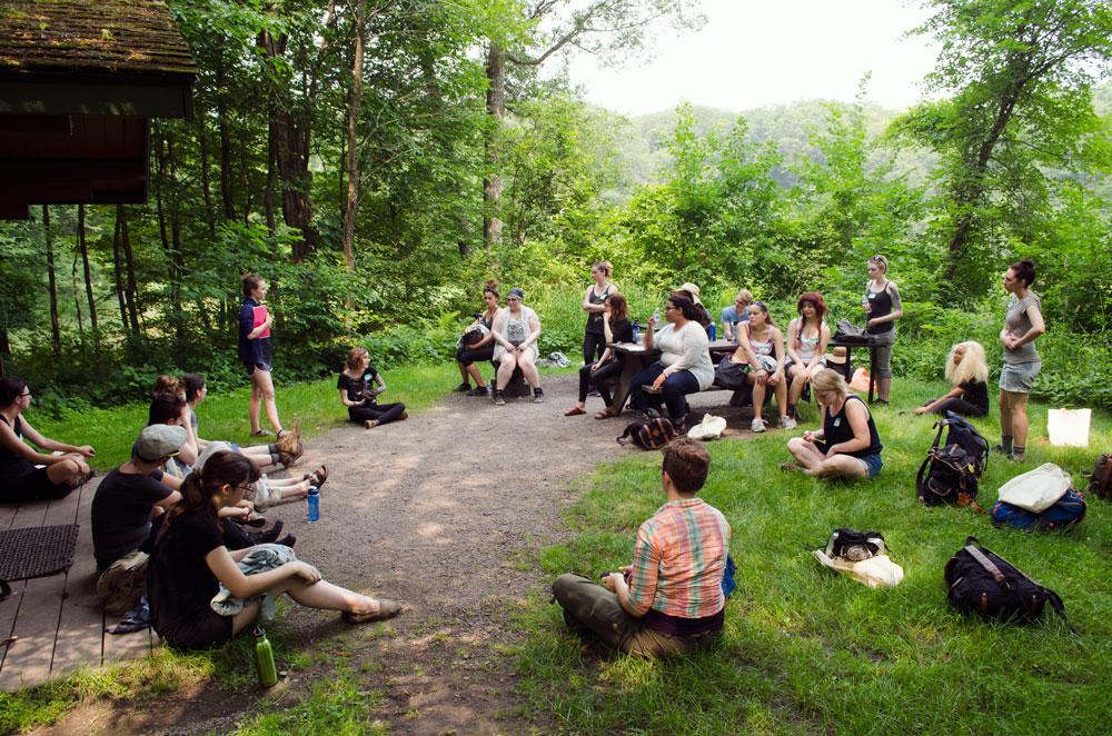 Creative Workshops, Hiking, and Sketching at Lake Maria State Park