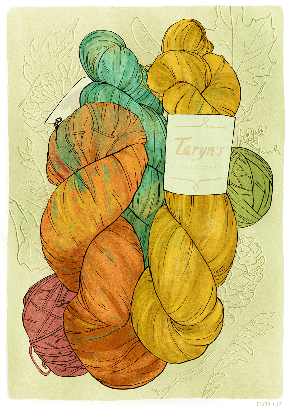 """Yarn + Autumn"" by Taryn Gee"