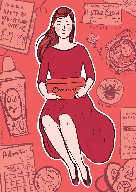 """""""Memories"""" by Emmeline Pidgen"""
