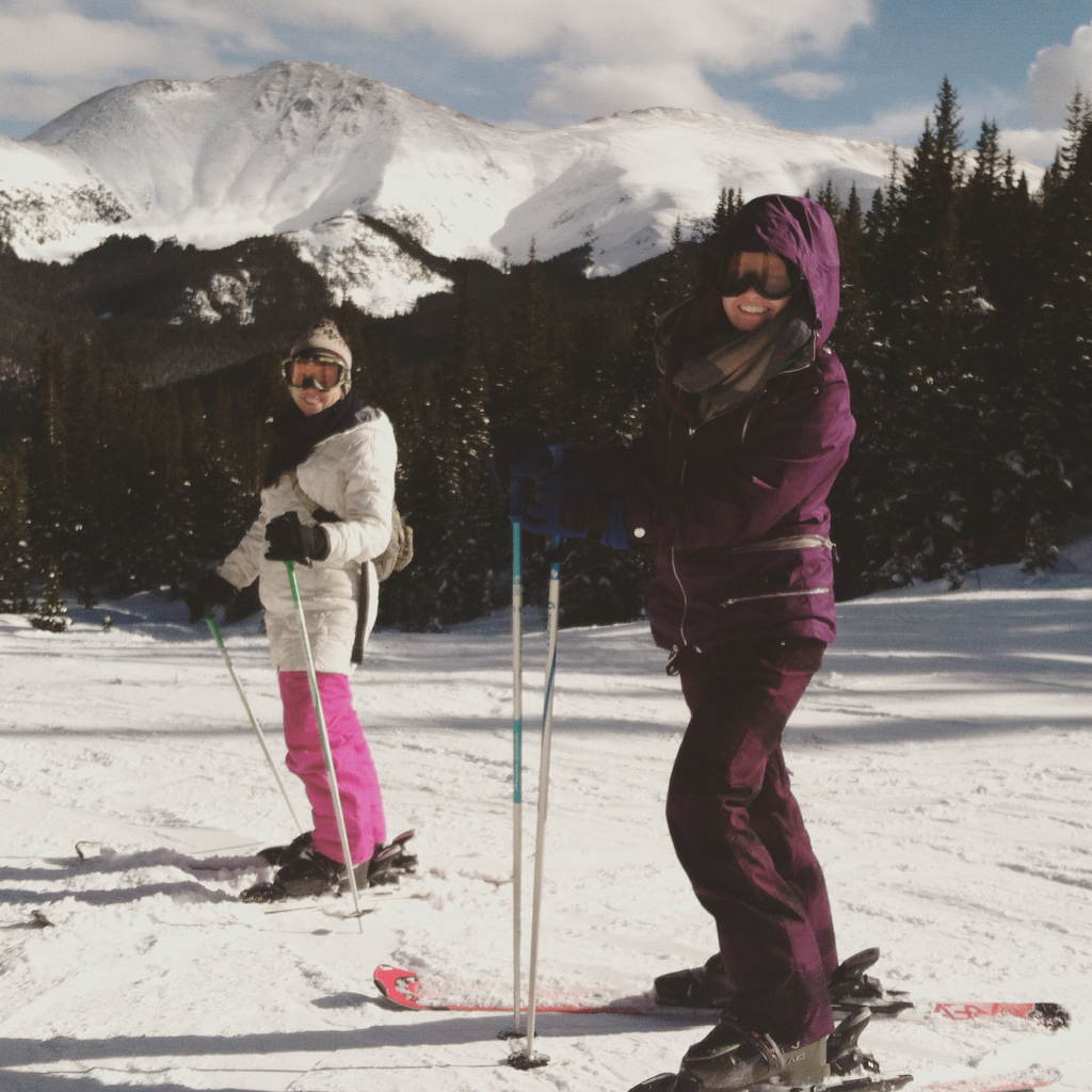 Skiing in Telluride