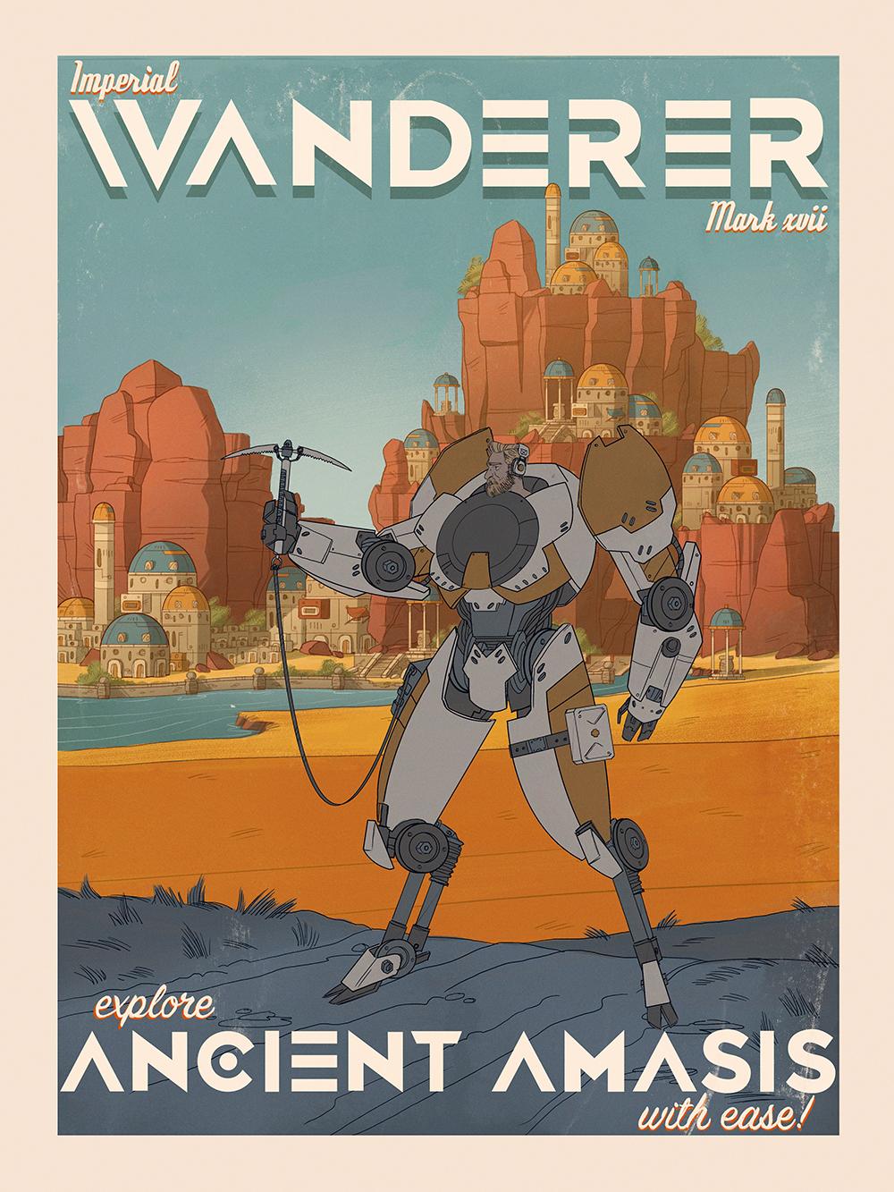 """Wanderer: Mark 17"" by Andy Bennett"
