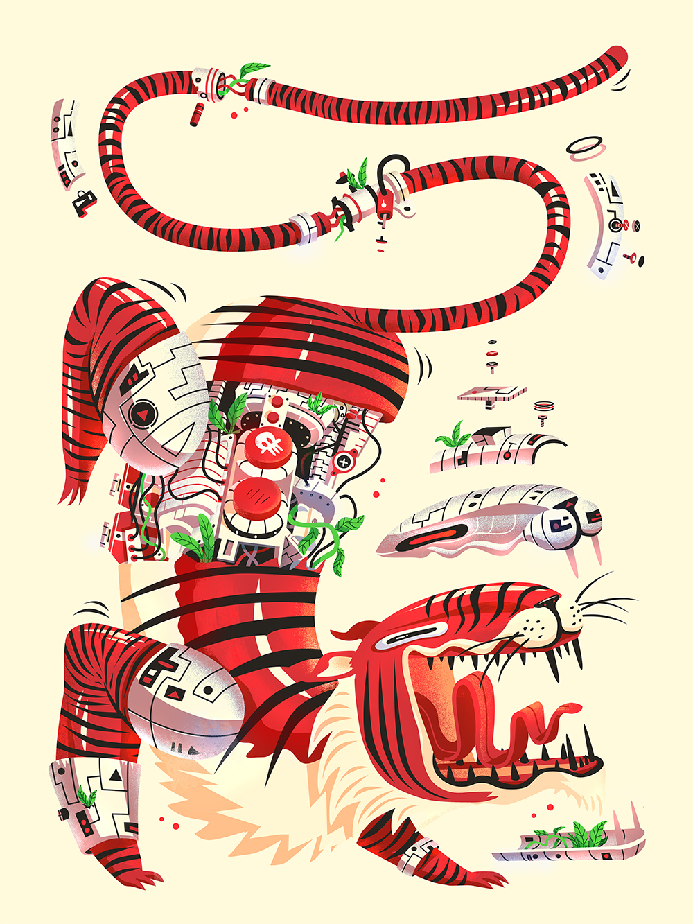 """""""The Tigerbot"""" by Pierre Kleinhouse"""