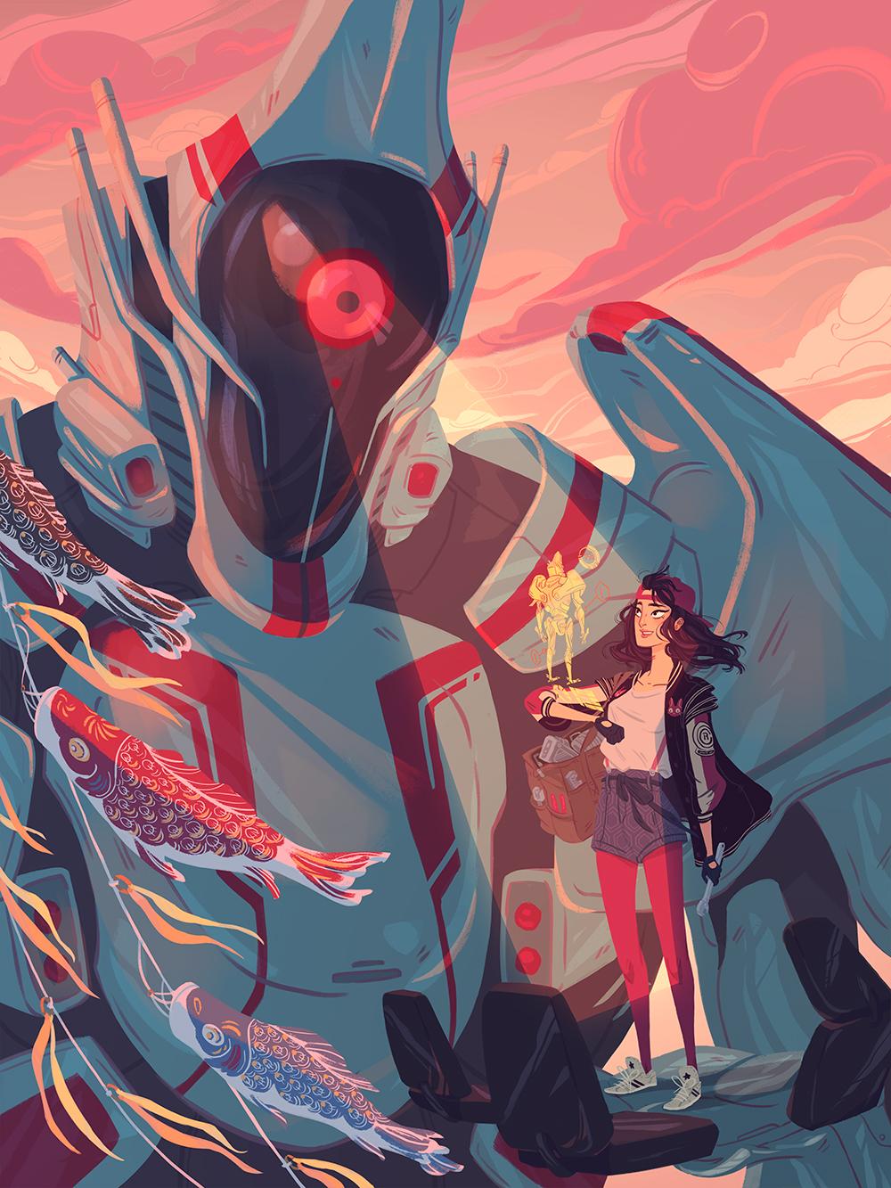 """""""Unit 01"""" by Liz Pulido"""