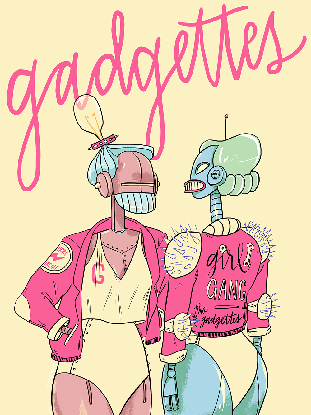 """""""Gadgettes"""" by Nicole Miles"""