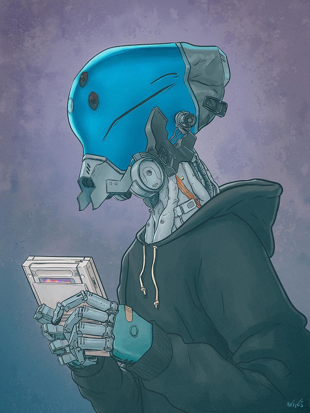 """Robo Kid"" by Rodrigo Avilés"