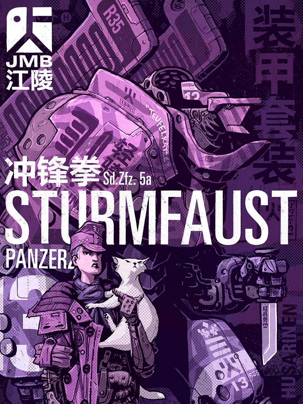"""""""Sturmfaust Panzerzug"""" by Rory Phillips"""