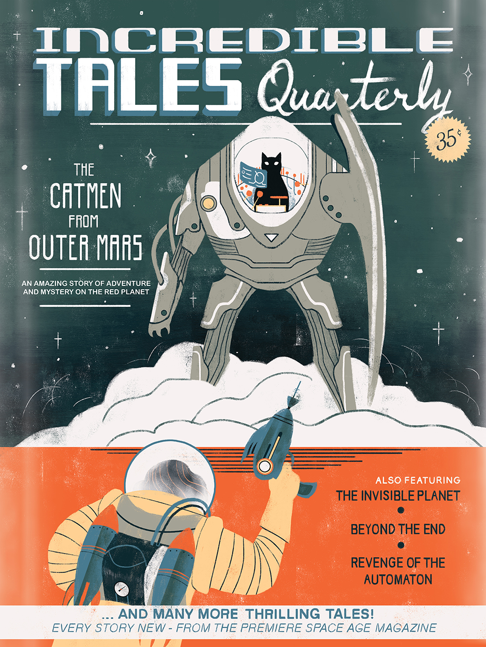 """""""Incredible Tales Quarterly"""" by Sander B."""