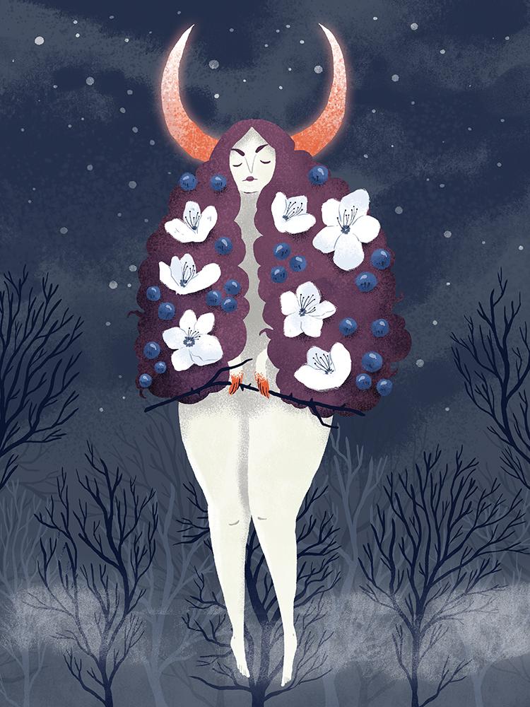 """Prunus spinosa"" by Emma Trithart"