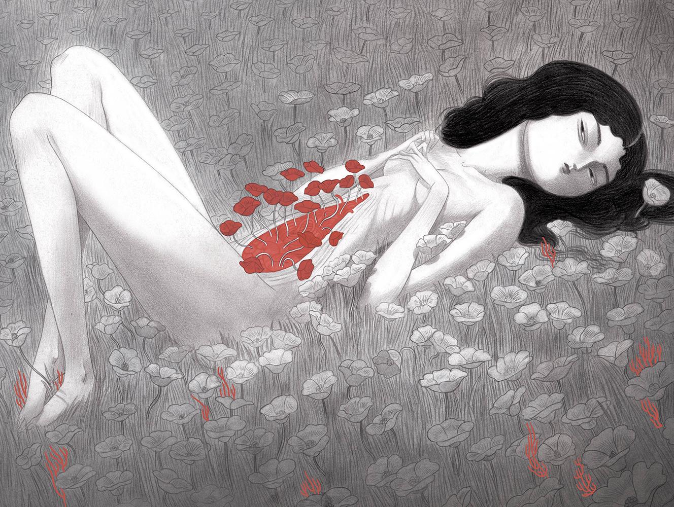 """Blossom Blood Blossom"" by Isa Bancewicz"