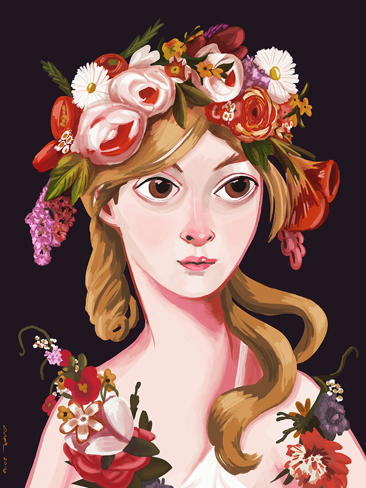 """""""Flora"""" by Nan Lawson"""