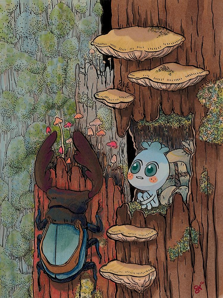 """""""Seedling Adventure"""" by Grace Kim"""