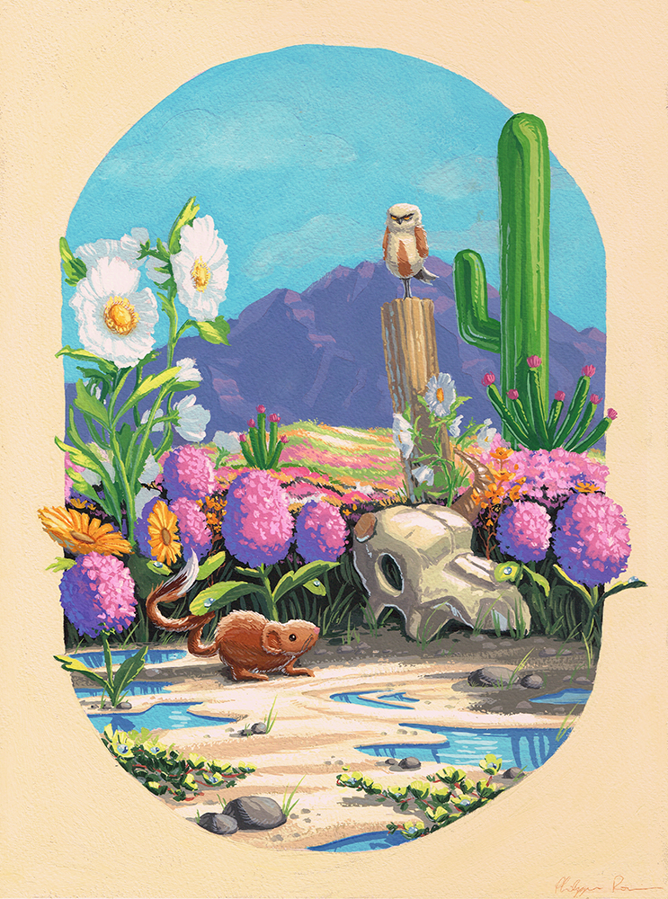 """Desert Blooms"" by Philippe Poirier"