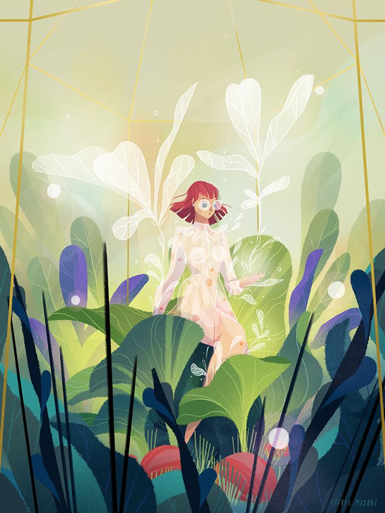 """""""Paper Flowers"""" by Rafael Mayani"""