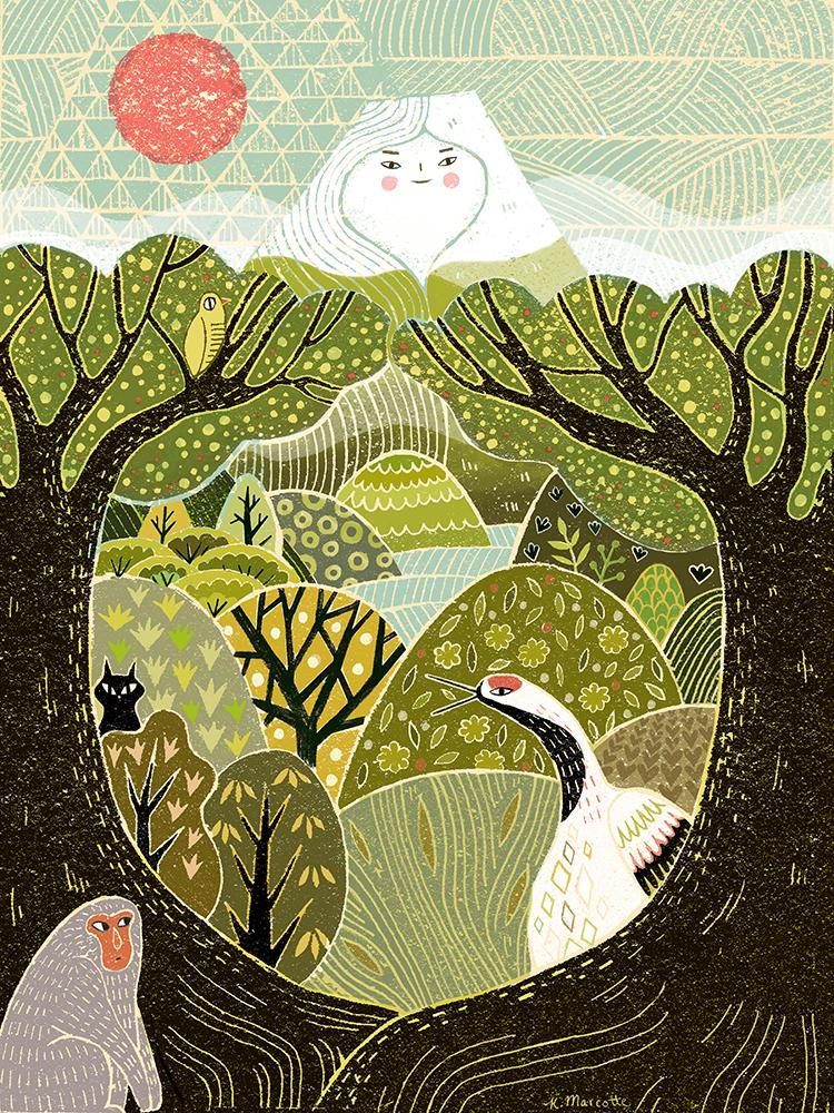 """Sakuya-hime"" by Kathleen Marcotte"