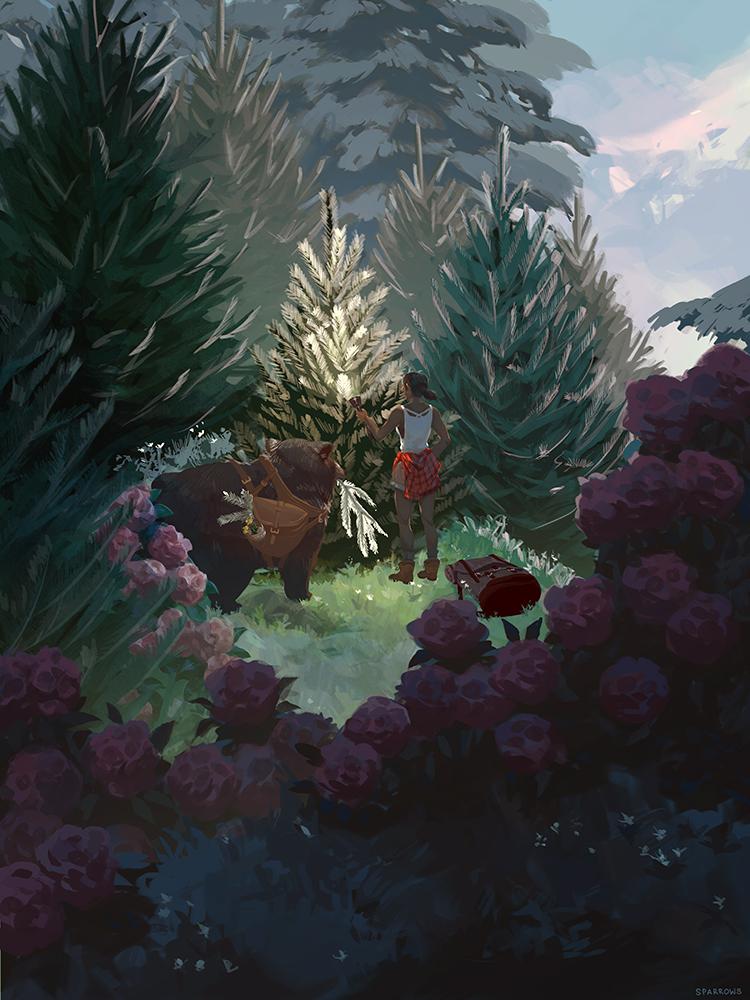 """Sylvanshine"" by A. Sparrow"