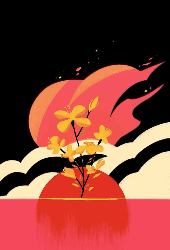 """""""Flowers Don't Flee Fires"""" by Xanthe Bouma"""