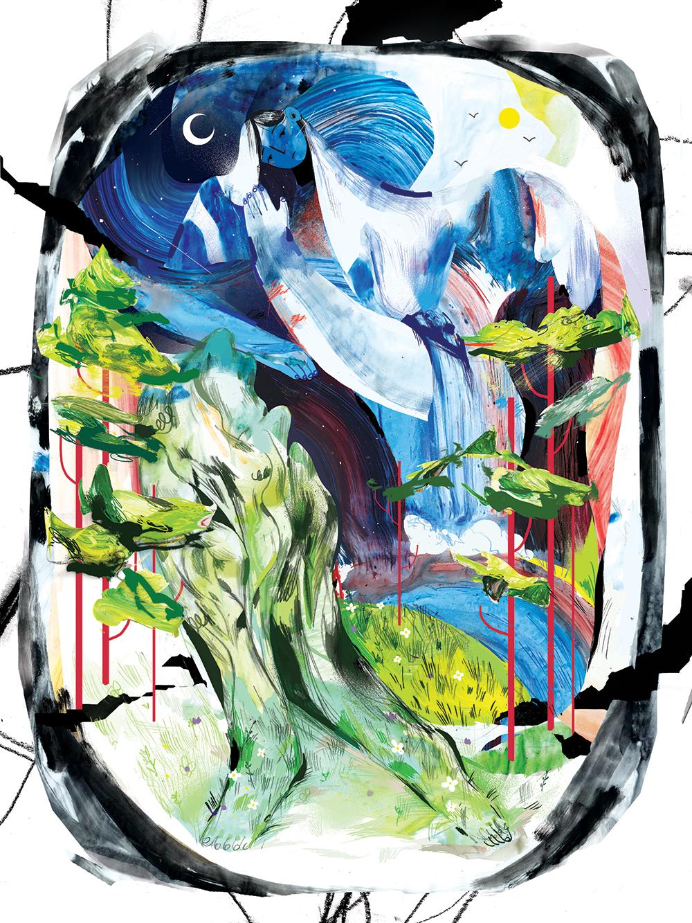 """""""Flow"""" by Lynn Scurfield"""
