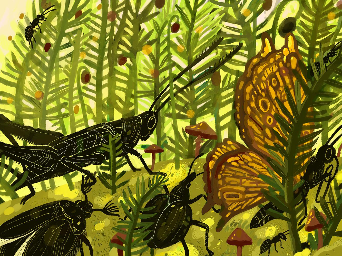 """""""Tiny Jungle"""" by Nechaeva Evgenia"""