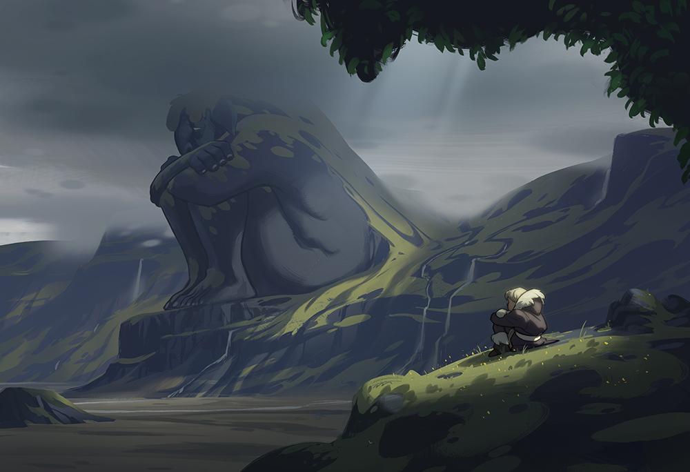 """þrumur (Thunder)"" by Justin Oaksford"
