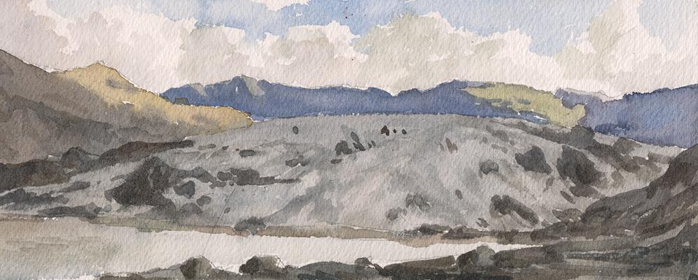 """""""Sólheimajökull"""" by Justin Oaksford"""