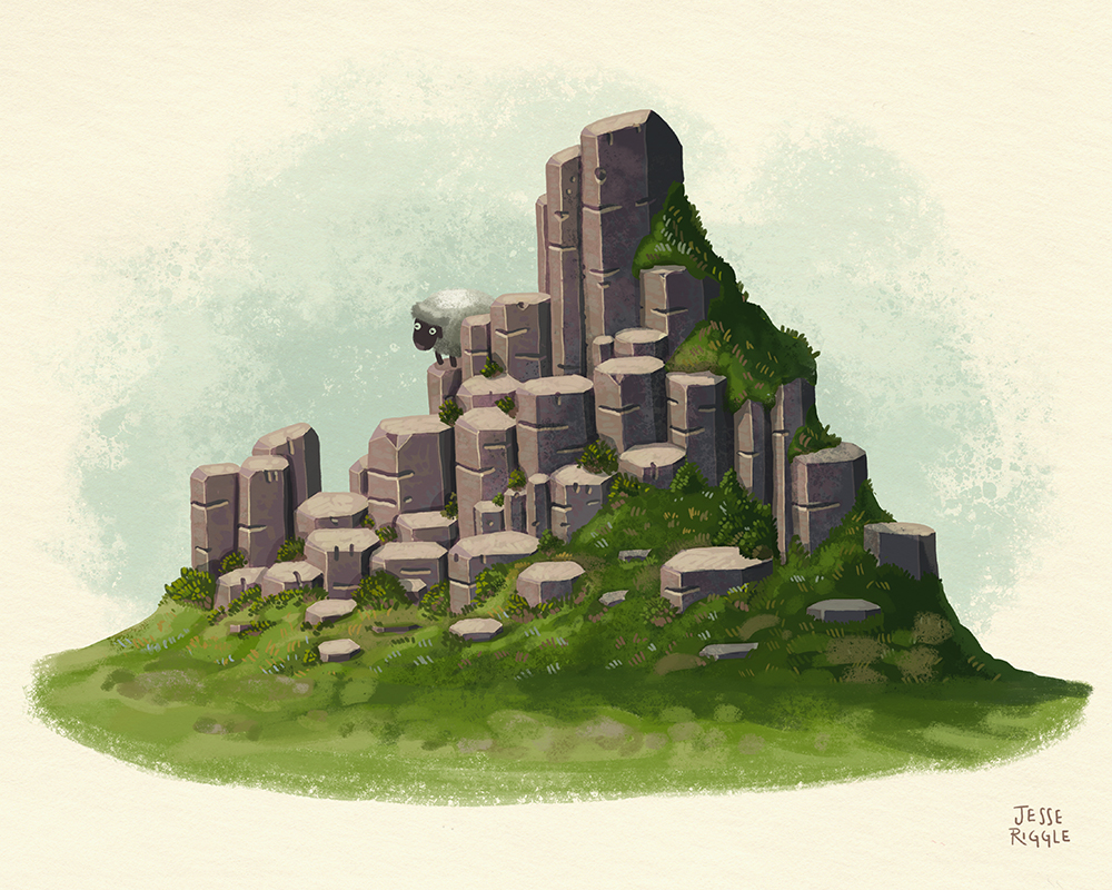 """Basalt"" by Jesse Riggle"