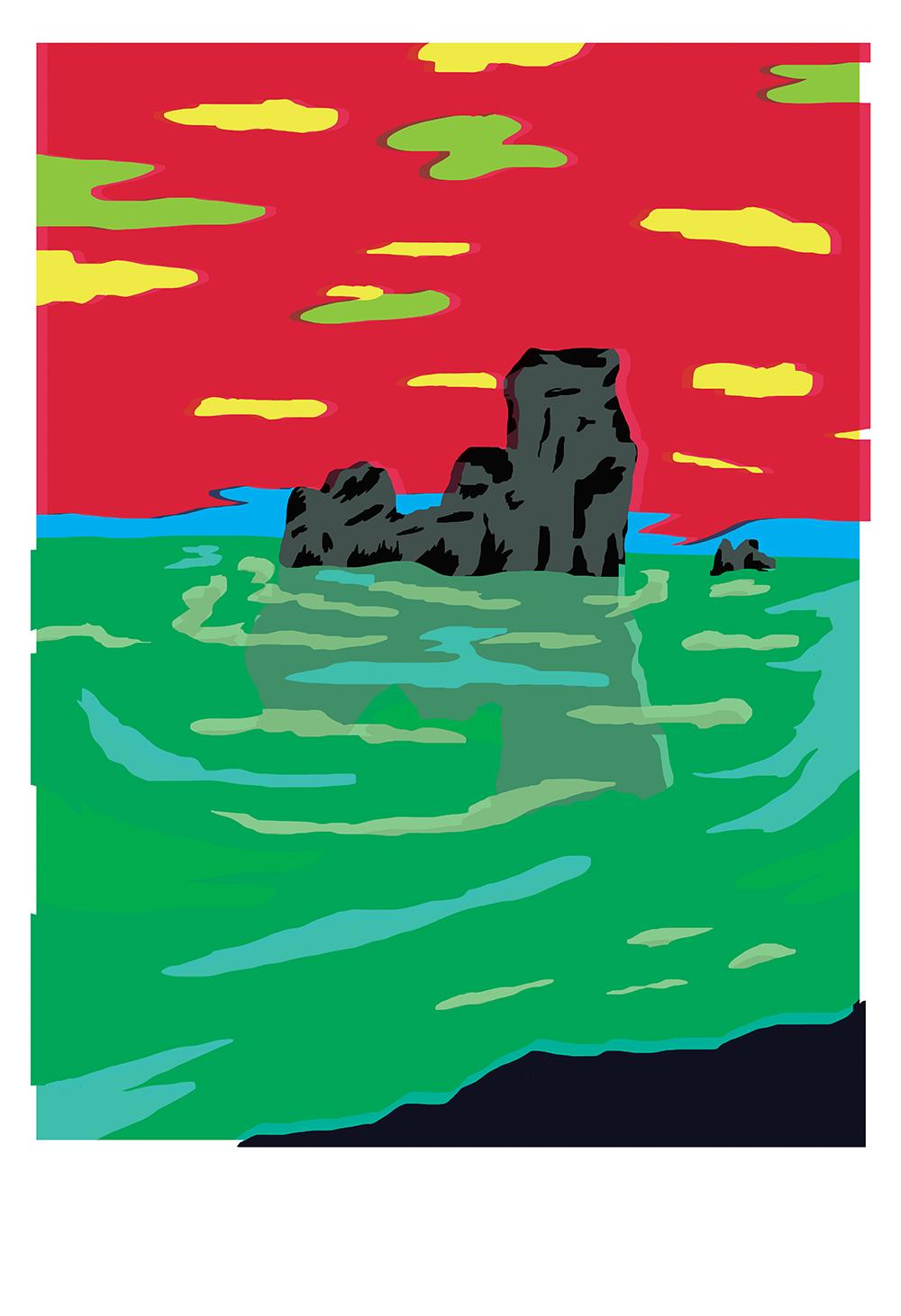 """Rock Formations"" by Ana Benaroya"