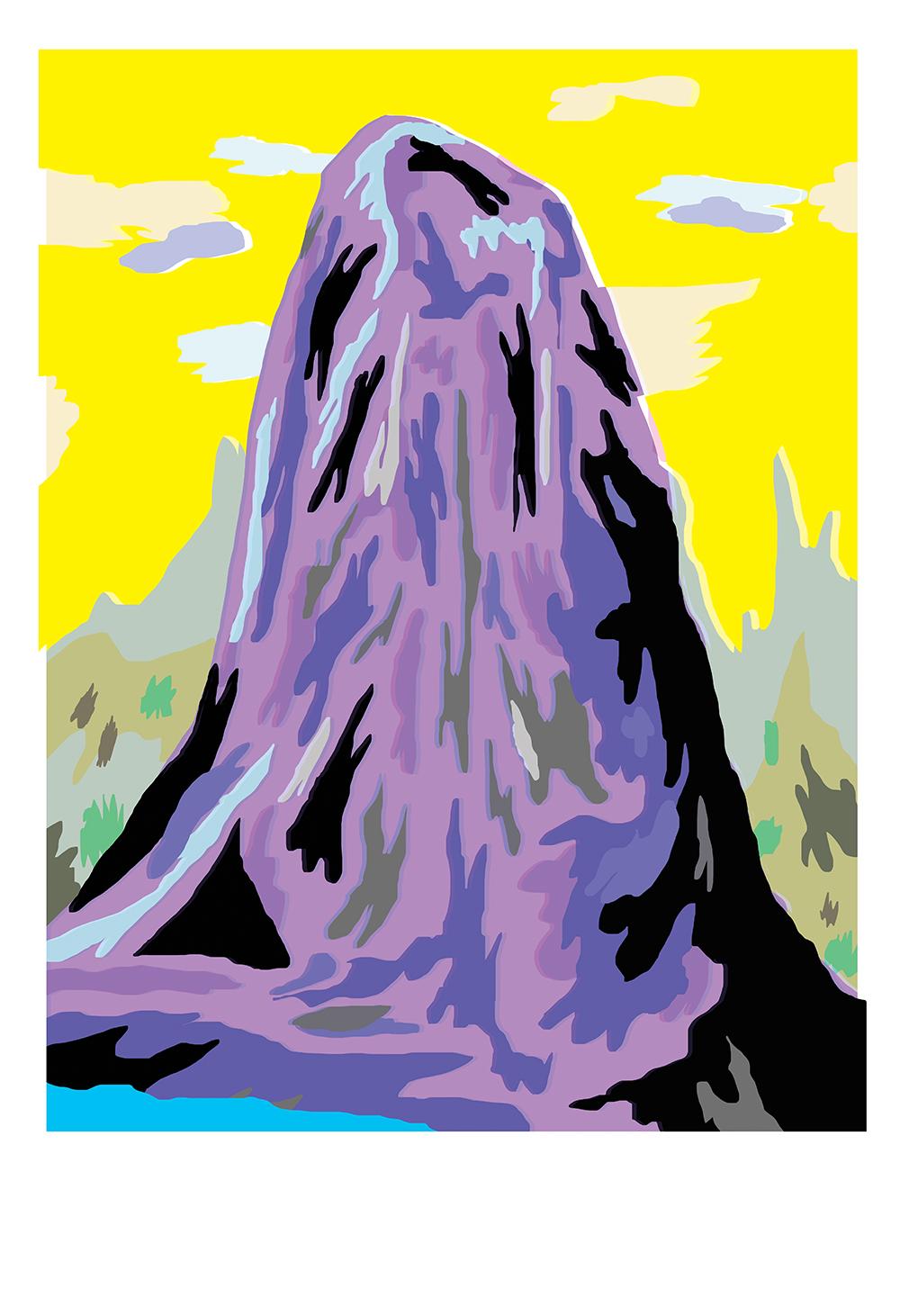 """Volcano"" by Ana Benaroya"