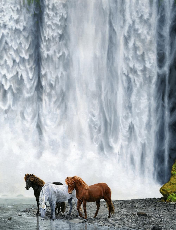 """Icelandic Horses"" by Erik Krenz"