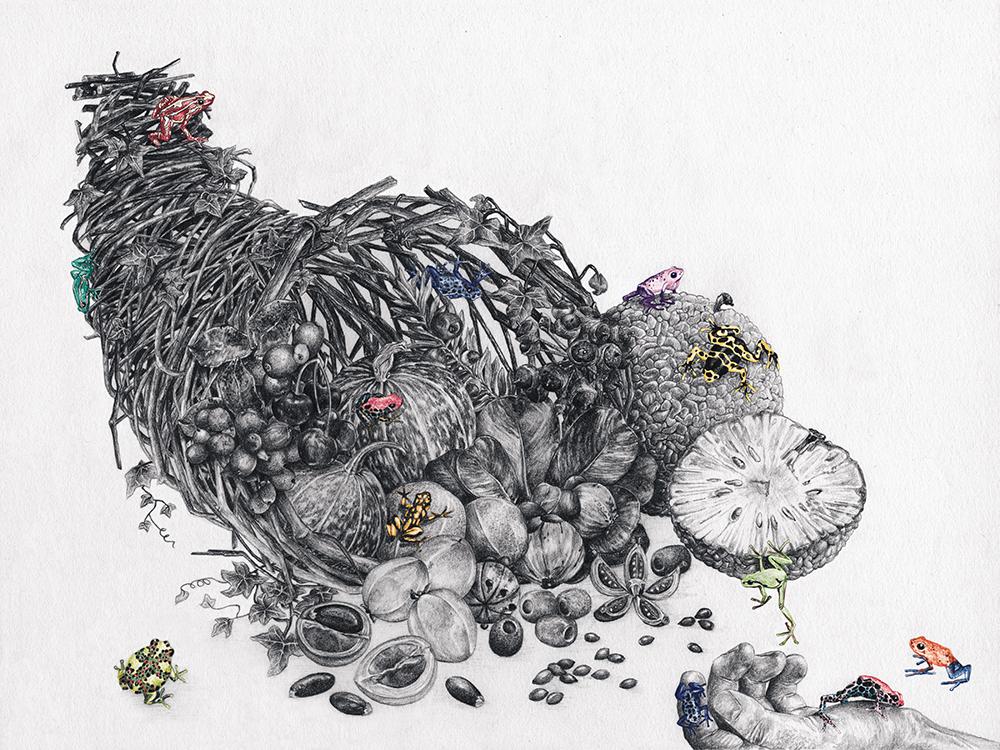 """Horn of Plenty"" by Chrissy Curtin"