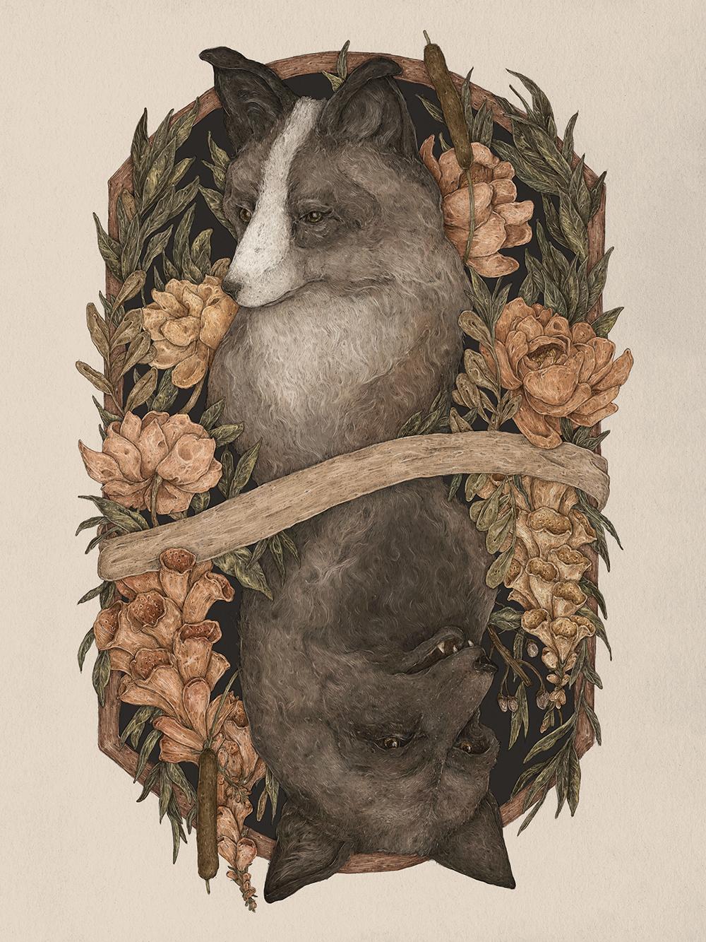"""""""Friend Fox, Foe Fox"""" by Jessica Roux"""