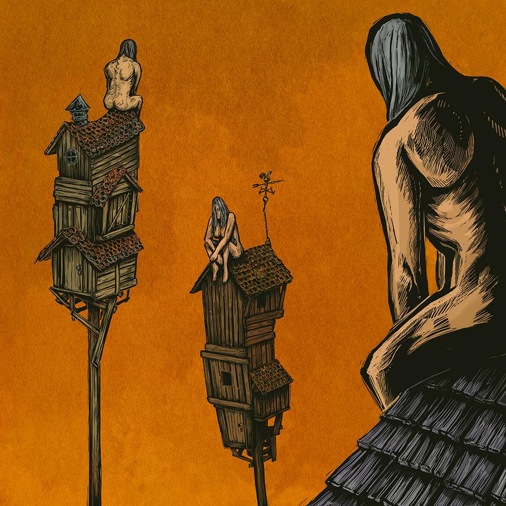 """""""Village of the Pillar Saints"""" by Alex Mitchell"""