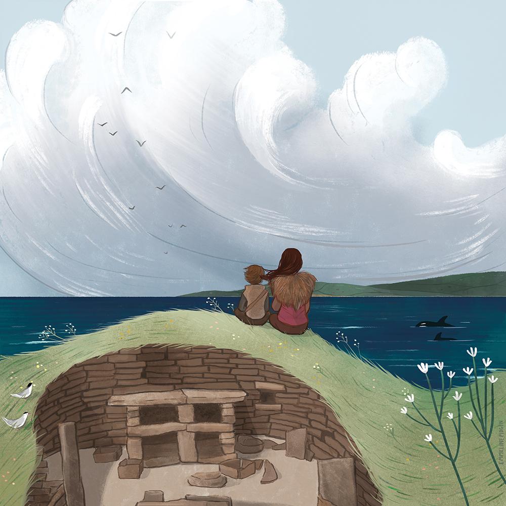 """""""Skara Brae"""" by Emmeline Pidgen"""