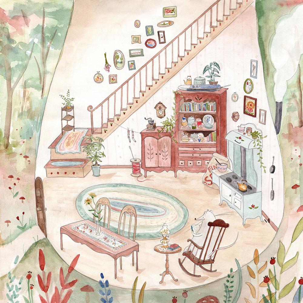 """""""Mouse's Mushroom"""" by Lindsay Blevins"""