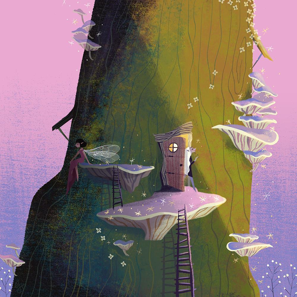 """""""Faerie Door"""" by Gica Tam"""