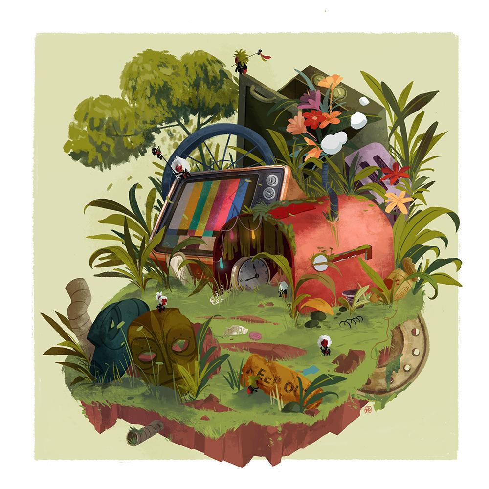 """Junkyard Home"" by Dione Charmaine Kong"
