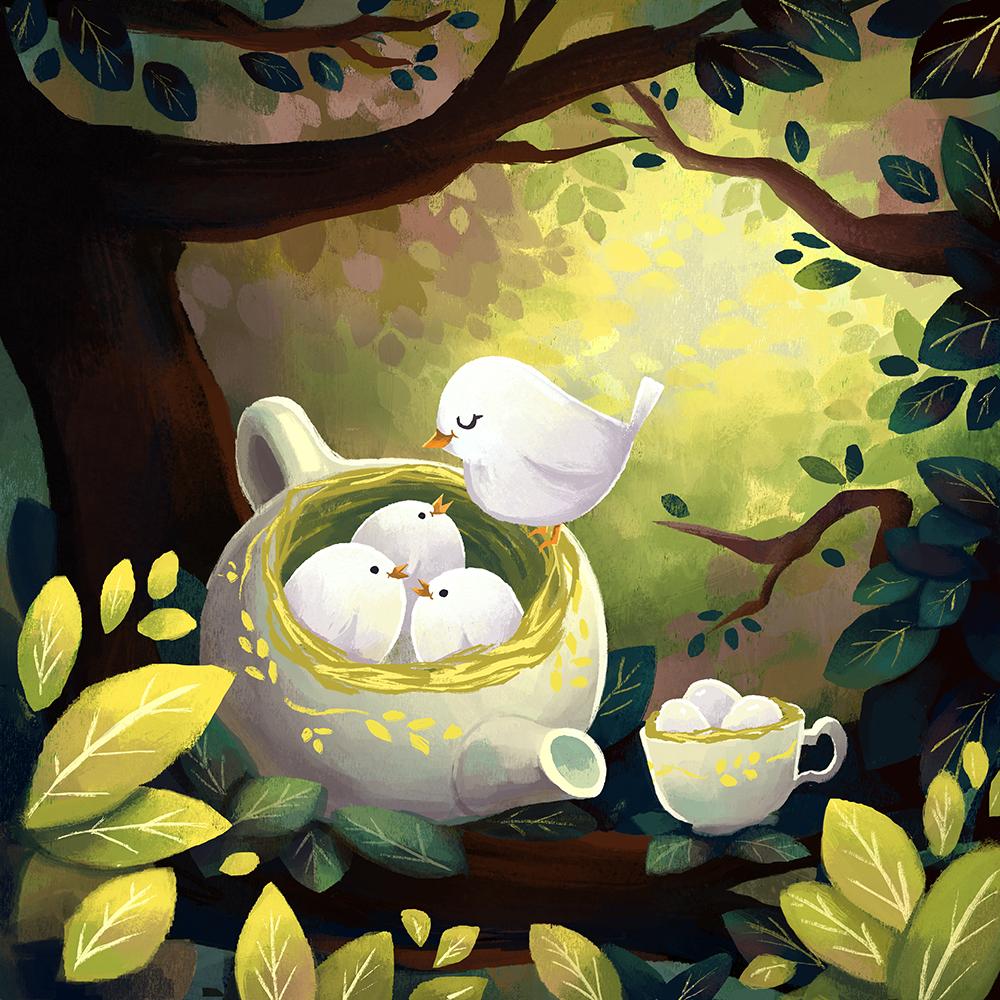 """""""A Tiny Potful"""" by Lillian Lai"""
