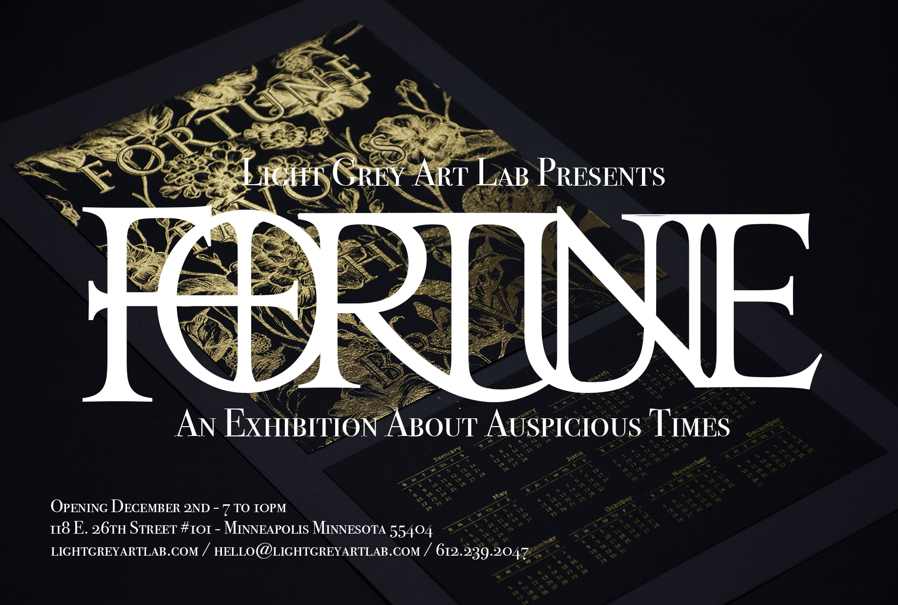 FORTUNE : CALL FOR ARTISTS! — Light Grey Art Lab