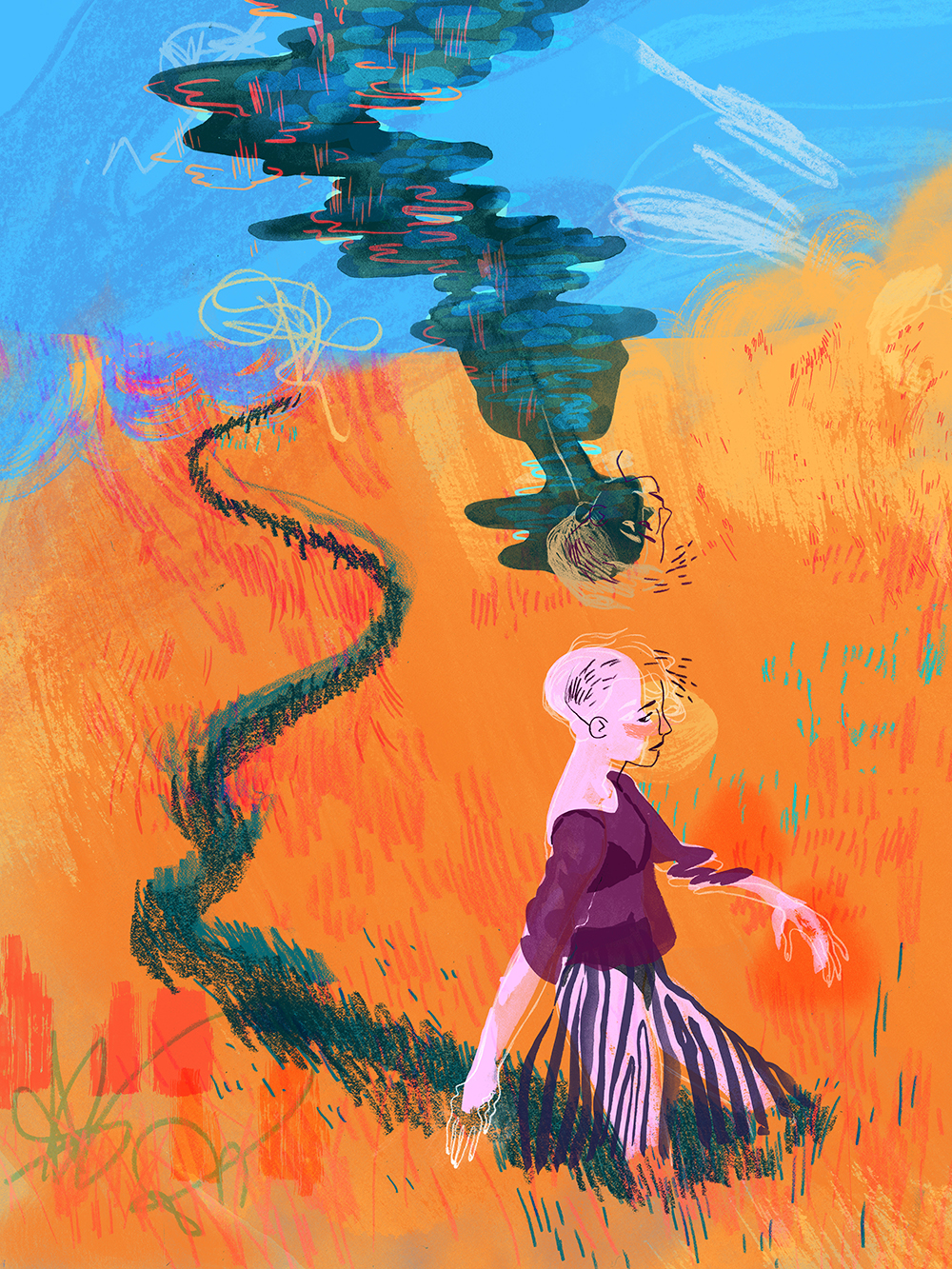 """Gold Field"" by Alyssa Van Hulle"