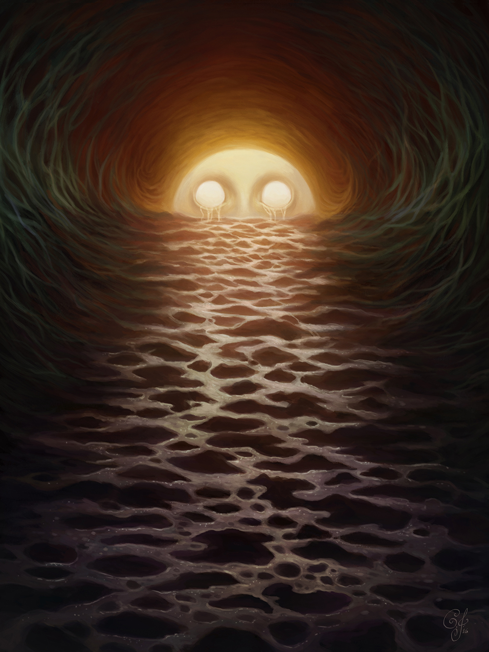 """Eyes of the Sun"" by Caroline Jamhour"