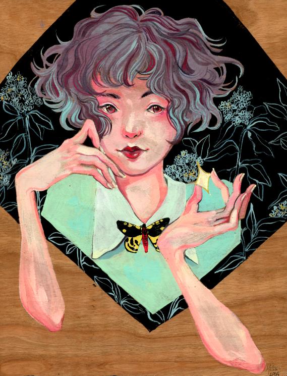 """A little Star Gazing"" by Malisa Suchanya"