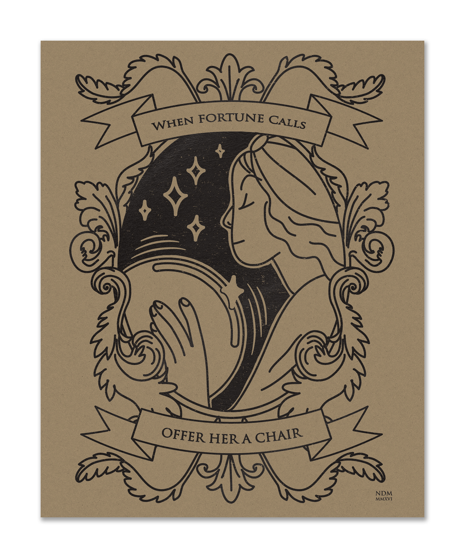 """Madame Zita's Fortunes"" by Nicole Miles"