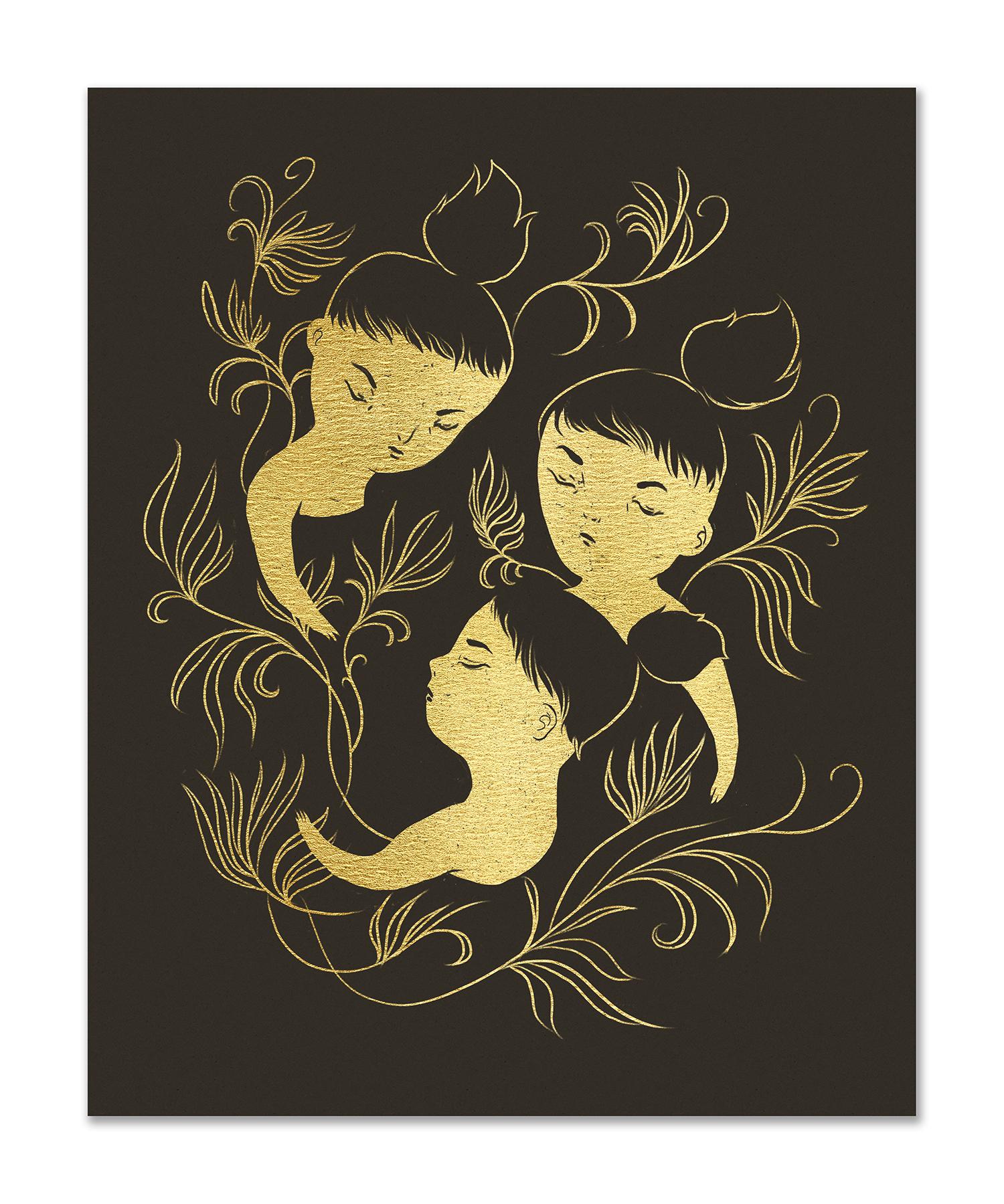 """""""Triplets"""" by Nicole Xu"""