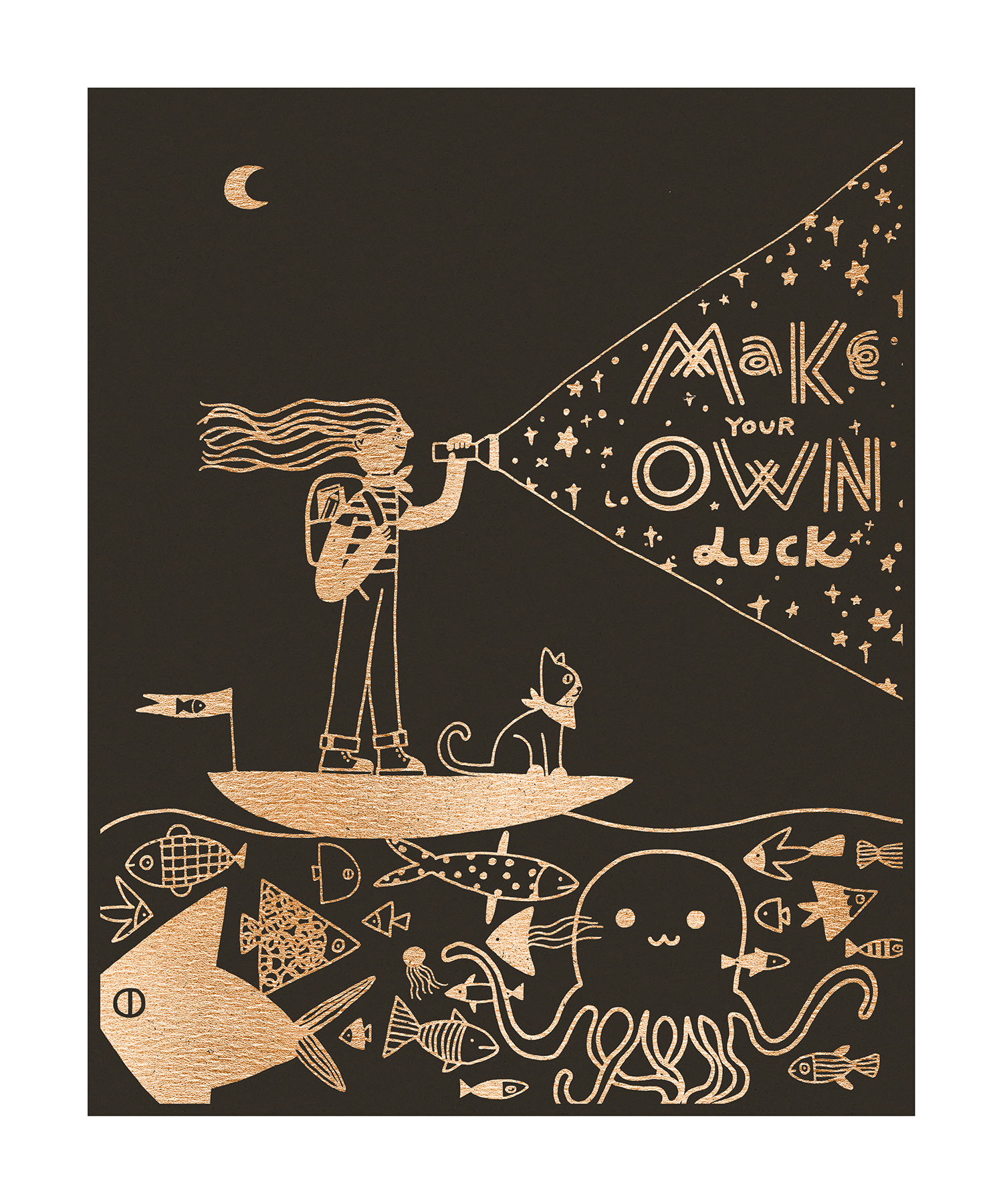 """""""Make Your Own Luck"""" by Yinfan Huang"""